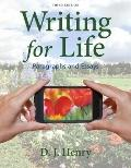 Writing for Life : Paragraphs and Essays with New Mywritinglab W/ Pearson Etext Access Code Card