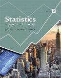 Statistics for Business and Economics Plus MyStatLab -- Access Card Package (12th Edition)