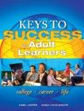Keys to Success for Adult Learners Plus NEW MyStudentSuccessLab 2012 Update -- Access Card P...