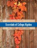 Essentials of College Algebra (11th Edition)