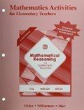 Mathematics Activities for Elementary Teachers
