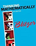 Thinking Mathematically plus NEW MyLab Math with Pearson eText -- Access Card Package (6th E...