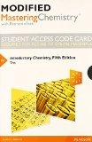 Modified MasteringChemistry with Pearson eText -- Standalone Access Card -- for Introductory...
