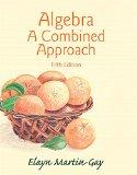 Algebra: A Combined Approach (5th Edition)