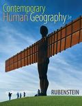 Contemporary Human Geography Plus MasteringGeography with EText -- Access Card Package
