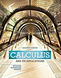 Calculus And Its Applications (11th Edition) 11th edition by Bittinger, Marvin L., Ellenboge...