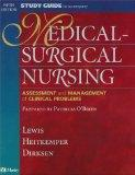 Study Guide to Accompany Medical-Surgical Nursing: Assessment and Management of Clinical Pro...