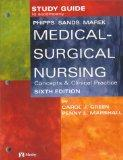 Study Guide to Accompany Phipps: Medical-Surgical Nursing: Concepts and Clinical Practice, 6e