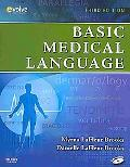Basic Medical Language - Text and E-Book Package