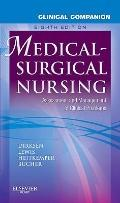 Clinical Companion Medical-Surgical Nursing: Assessment and Management of Clinical Problems