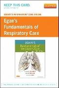Mosby's Respiratory Care Online for Egan's Fundamentals of Respiratory Care (User Guide and ...