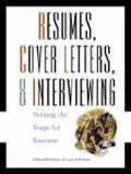 Resumes, Cover Letters, & Interviewing Setting the Stage for Success