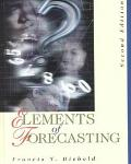 Elements of Forecasting