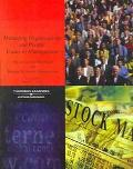 Managing Organizations and People Caes In Management; Organizational Behavior and Human Reso...