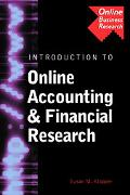 Introduction to Online Accounting & Financial Research Search Strategies, Research Case Stud...