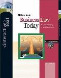 Business Law Today, Standard Edition Interactive Text with InfoTrac College Edition