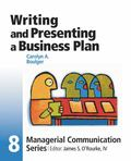Writing and Presenting a Business Plan