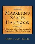 Marketing Scales IV Organizational Behavior