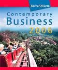 Contemporary Business 2006