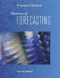 Elements of Forecasting (Book Only)