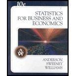 Statistics for Business and Economics (Book Only)