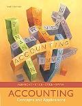 Accounting Concepts And Applicaitons