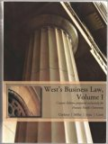 West's Business Law, Volume 1 (Custom Edition for Hawaii Pacific University)