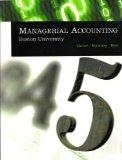 Managerial Accounting: Boston University