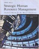 Strategic Human Resource Management, Custom Edition for St. Mary's University Business Admin...