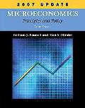 Microeconomics Principles and Policy, 2007