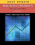 Macroeconomics Principles and Policy, 2007