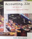 Accounting, 22e ACC 101 & 102 (Northern Essex Community College Edition)