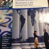 Fundamentals of Business Law Summarized Cases Custom WebTutor Edition