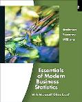 Essentials of Modern Business Statistics (with Online Material Printed Access Card)