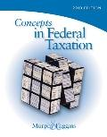 Concepts in Federal Taxation 2010, Professional Version