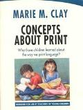 Concepts About Print What Have Children Learned About the Way We Print Language?