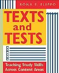 Texts and Tests Teaching Study Skills across Content Areas