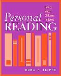 Personal Reading How to Match Children to books