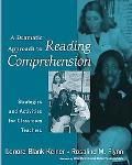 Dramatic Approach to Reading Comprehension Strategies And Activities for Classroom Teachers