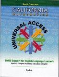 California Mathematics Universal Access Grade Four (4) (SDAIE Support for English Language L...