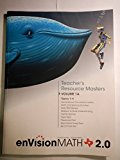 EnVision Math 2.0 Texas Edition Volume 1A Topics 1-4: Grade 5 Teacher's Resource Masters