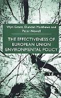 Effectiveness of European Union Environmental Policy