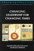 Changing Leadership for Changing Times