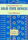 Introduction to Solid State Devices