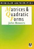 Matrices and Quadratic Forms
