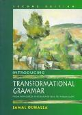 Introducing Transformational Grammar: From Principles and Parameters to Minimalism