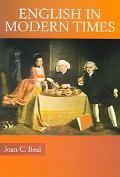 English In Modern Times 1700-1945