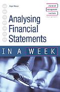 Analysing Financial Statements in a Week