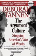 Argument Culture Stopping America's War of Words