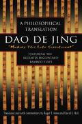 Dao De Jing A Philosophical Translation